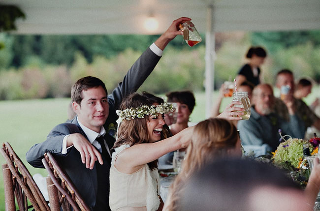 Oui Oui-botes cristal como vasos-boda rustica-campestre-brindis