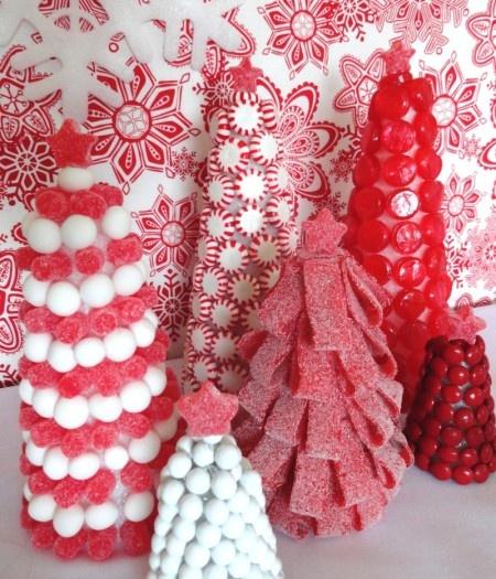 Oui Oui-mesa dulces navidad-blanco y rojo-candy bar navidad (10)