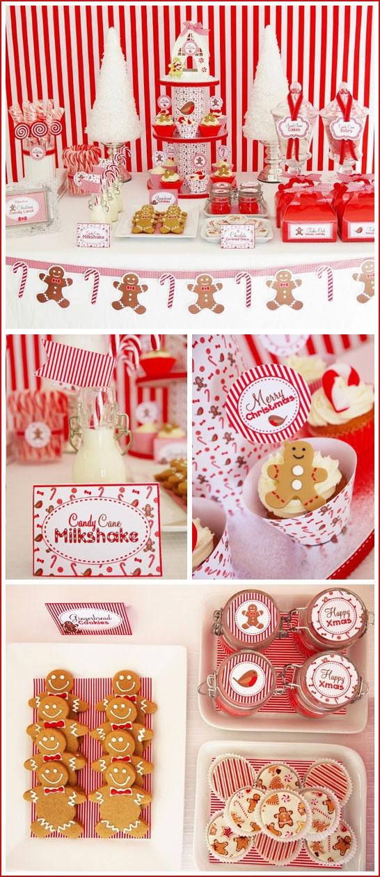 Oui Oui-mesa dulces navidad-blanco y rojo-candy bar navidad (2)