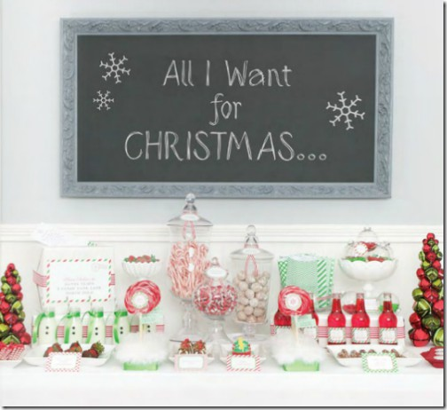 Oui Oui-mesa dulces navidad-blanco y rojo-candy bar navidad (9)