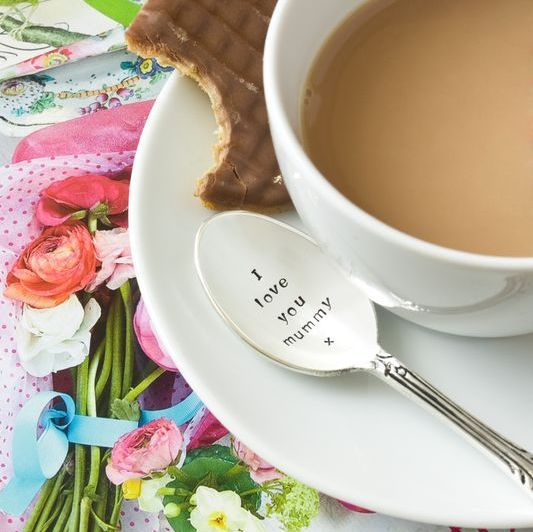 Oui Oui-cucharilla café-te-i love you mummy-regalo original dia de la madre-madrina 2
