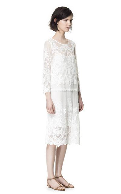 Un vestido de novia \