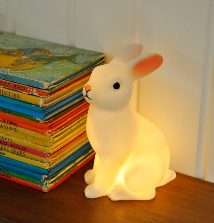 Oui Oui-lampara conejito iluminada
