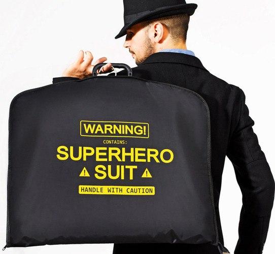 Oui Oui-portatrajes super héroe
