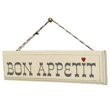 Oui Oui-señal madera bon appetit