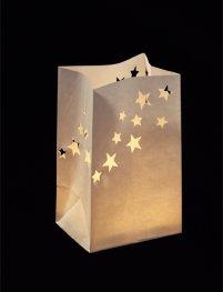 Oui Oui-bolsa para vela troquelada estrellas