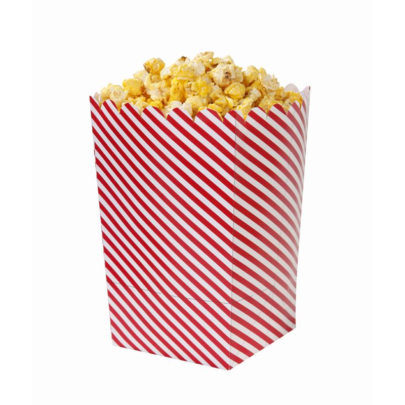 Oui Oui-bolsas palomitas rayas rojas y blancas