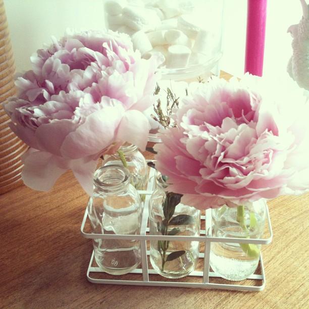 Oui Oui-set lecheras cristal-jarron-flores
