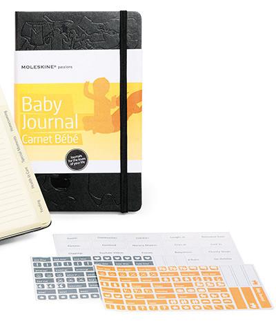 Oui Oui-moleskine baby journal-agenda cuaderno bebé