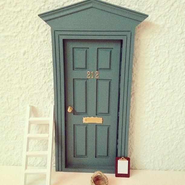 Oui Oui-puerta ratoncito Pérez victoriana verde pino 212