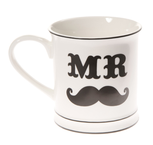 Oui oui-taza Mr moustache
