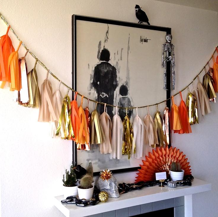 Oui Oui-decorar con guirnaldas-guirnadas de flecos-guirnaldas de borlas-tassel garlands-decoracion original boda-boda rustic chic (8)