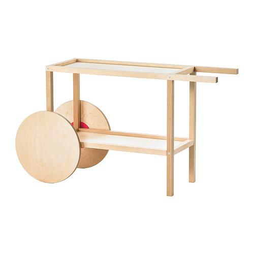 El carrito camarera mesa auxiliar de ikea oui oui es for Mesa con ruedas ikea