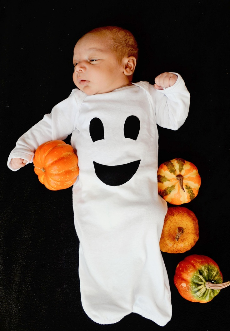 Oui Oui-disfraces originales para bebés-fantasma-halloween