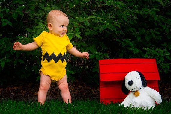 Oui Oui-disfraces originales para bebés-niños-charliebrown