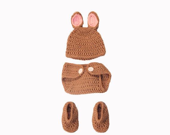 Oui Oui-disfraces originales para bebés-niños-conejito