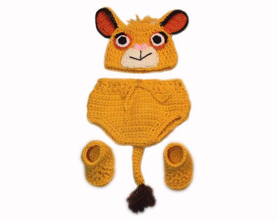 Oui Oui-disfraces originales para bebés-niños-león-simba