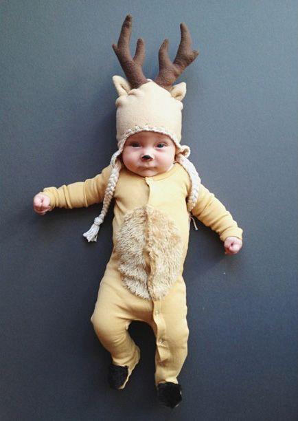Oui Oui-disfraces originales para bebés-niños-reno