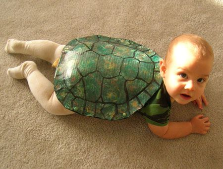 Oui Oui-disfraces originales para bebés-tortuga