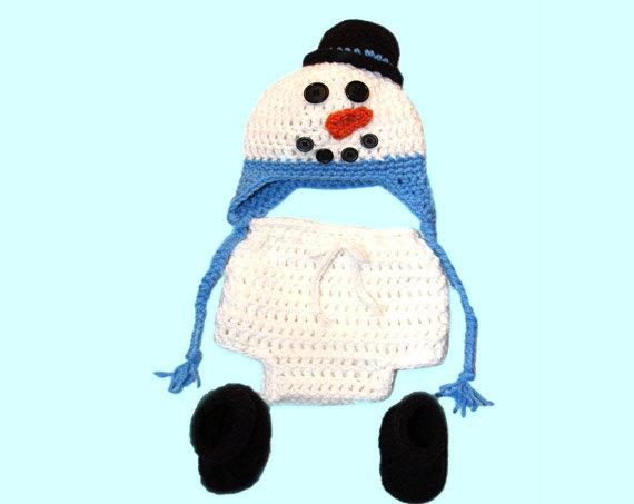 Oui Oui-fotografias originales bebés-disfraz para bebé mono-muñeco de nieve