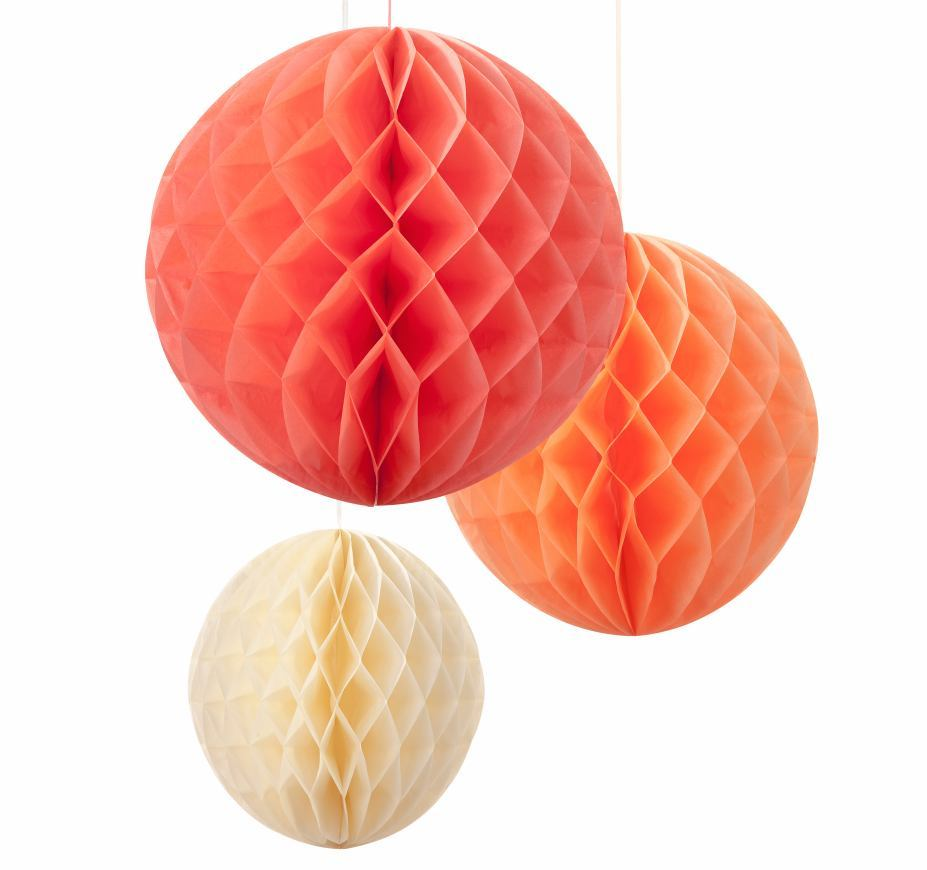 Oui Oui-honeycomb naranja-mandarina-crema