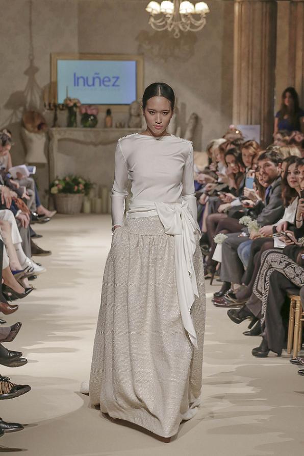 Oui Oui-pasarela si quiero-bodabook-falda isabel nuñez-vestido novia diferentes-inuñez