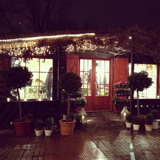 Oui Oui-floristeria verde pimienta-cabaña luces-ramo novia