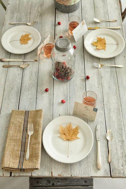 Oui Oui-ideas para decorar una mesa de otoño (2)