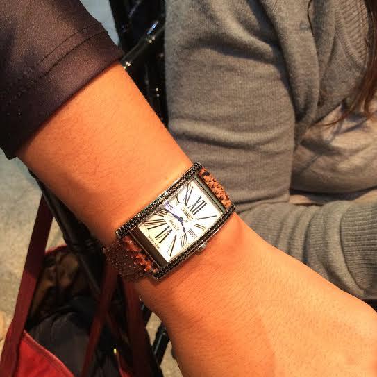 Oui Oui-reloj mujer suarez-imante-primer reloj mujer suarez-cocorilo marron