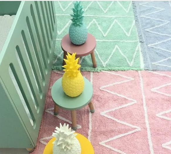 Oui Oui-lampara piña-piña colada lamp-mint-rosa-amarillo