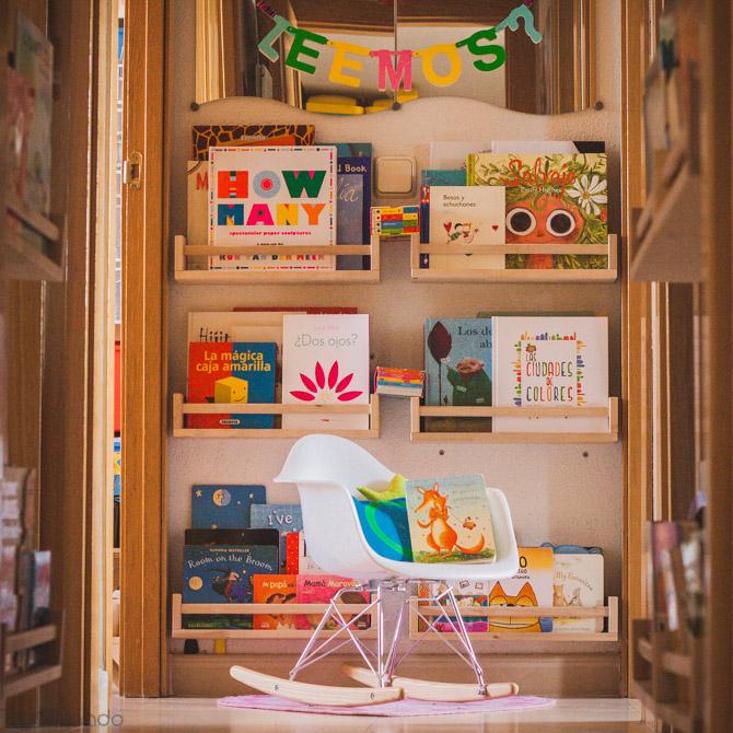 Oui Oui-rincon de lectura bebes-guinalda letras-tigriteando