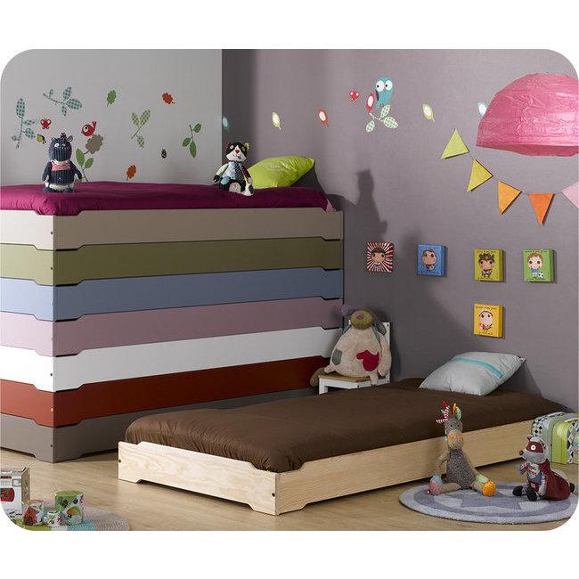 Oui Oui blog-cama montessori-cama baja para bebes-cama bebe apilable