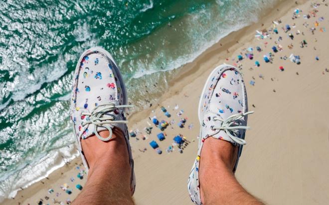 Oui OUi-gray malin zapatos