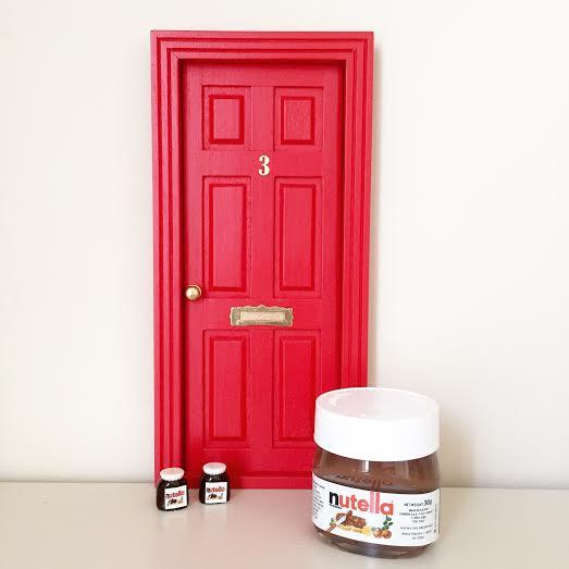 Oui Oui-puerta ratoncito Pérez-casita ratocnito Pérez-puerta ratoncito sara carbonero-nutella miniatura