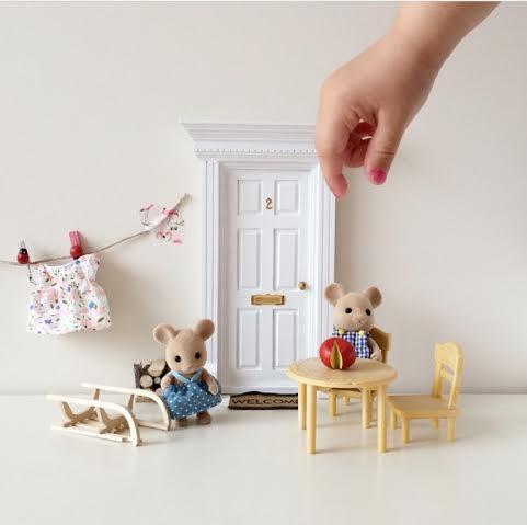 Oui Oui-puerta ratoncito perez-con ratoncitos a la fresca-retales de mi vida