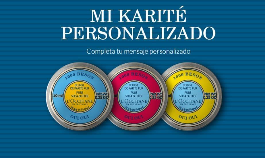 Oui Oui-cacao personalizado karite-l´òccitane 2